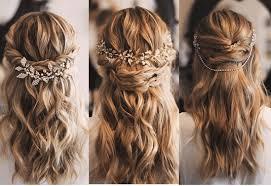 süslü yarı toplanmış saç modelleri