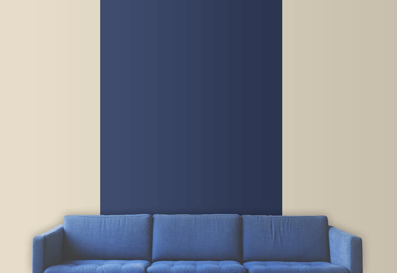 comment peindre un mur en deux couleurs