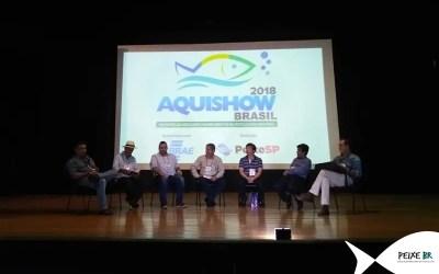 Peixe BR participa de painel durante Aquishow Brasil