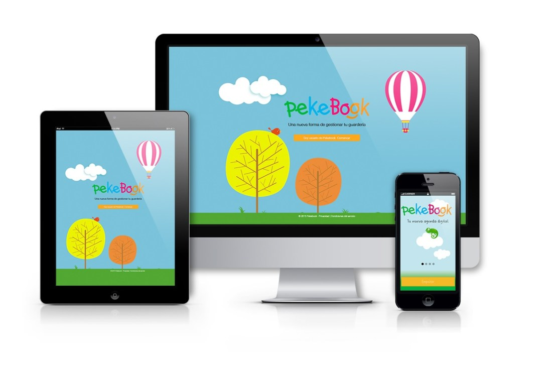 agenda infantil digital pekebook