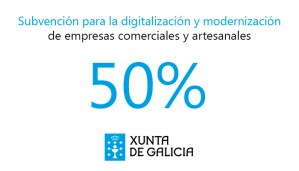 El DOG publica la subvención para la digitalización y modernización de empresas comerciales y artesanales
