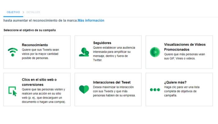 Posibilidades y oportunidades de los anuncios en redes sociales para empresas - Twitter