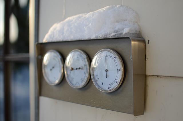 měsíční vyúčtování tepla, polohové koeficienty
