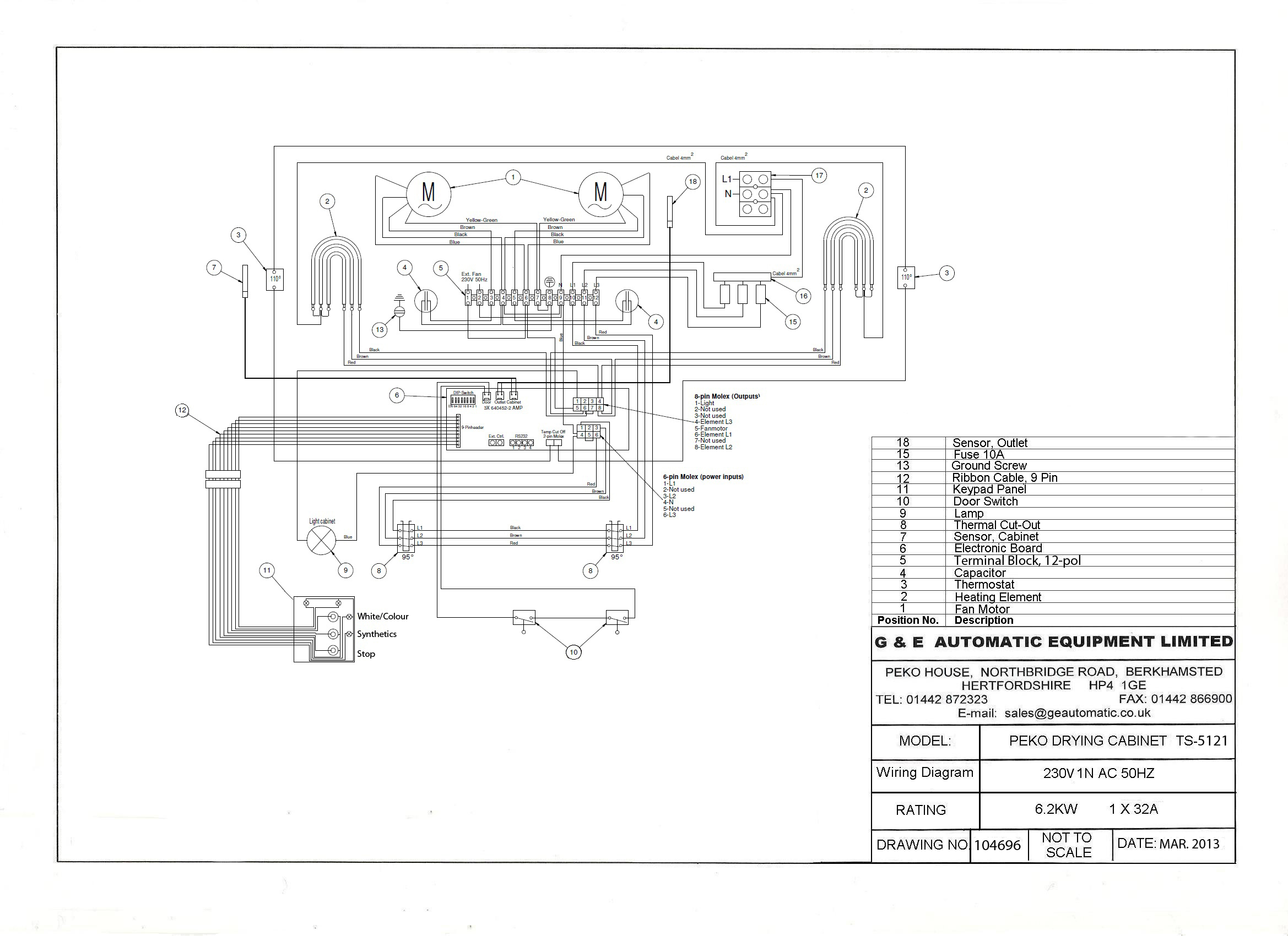 Gear Dryer Wiring Diagram