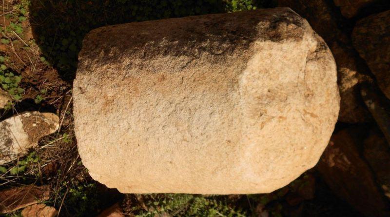 Фрагмент од мермерен столб 3