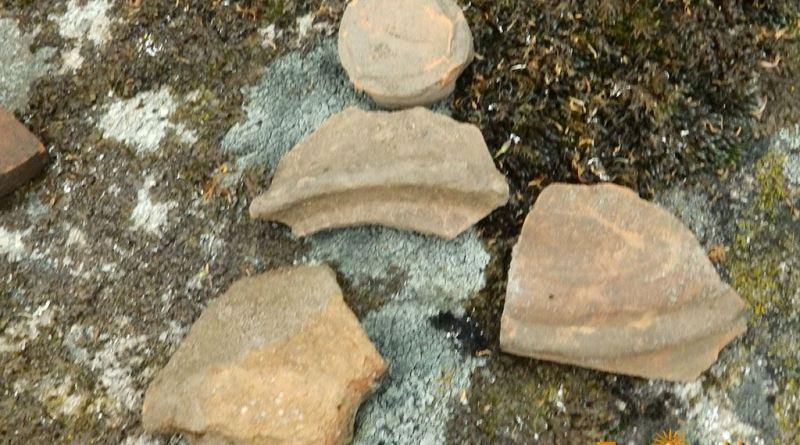 Неколку керамички фрагменти