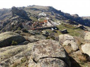 Поглед на манастирот од север