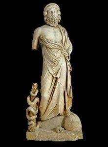 Скулптура на Асклепиј - II век н.е.