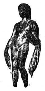Бронзена фигура на момче од с. Крушевица - (Никола Вулиќ)