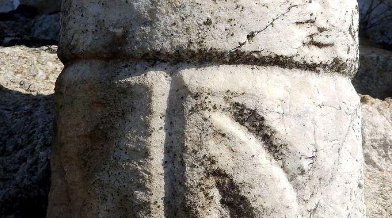 Фрагмент од помал ранохристијански капител - мењрмер 2