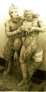 Пан со Дафне - 100 BCE, second century CE, found in Pompeii