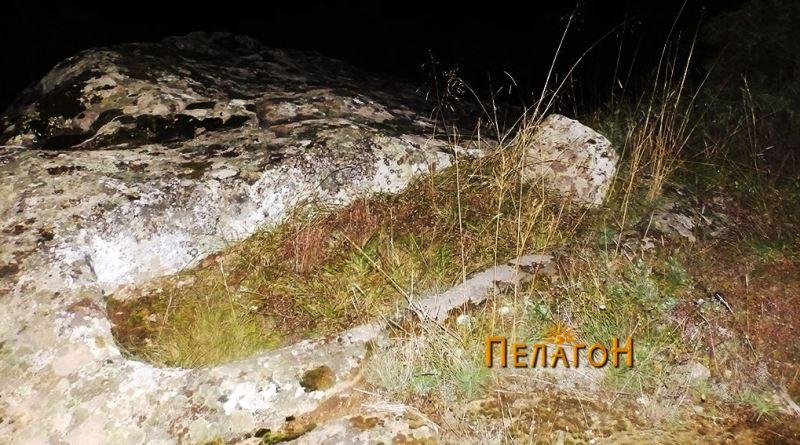 Винарник во карпа во близина на локалитетот