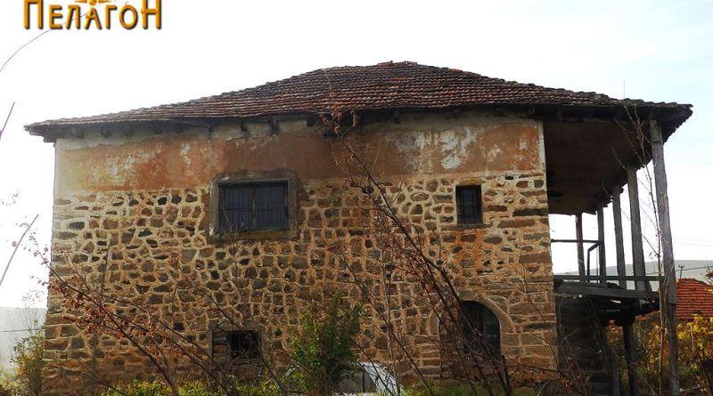 Кула од турскиот период изградена со камен и малтер