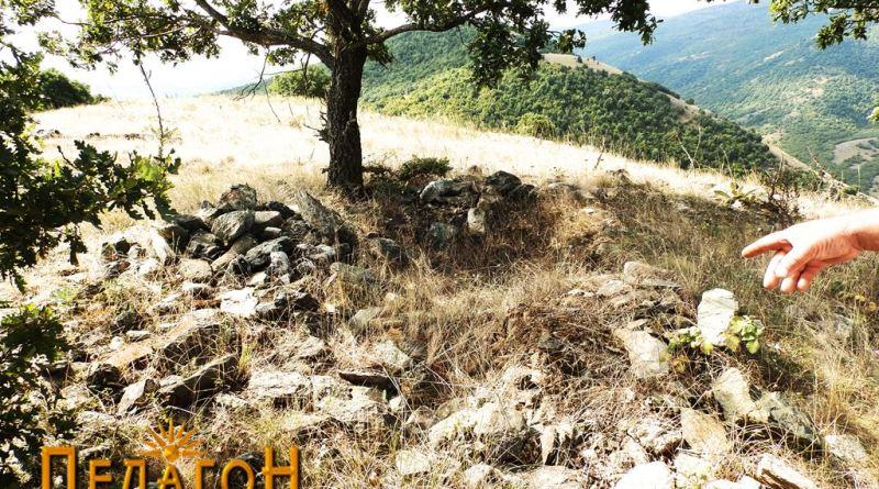 """Остаток од градба на """"Трновски Рид"""""""