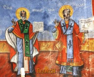 Св. Никола и св. Исаја