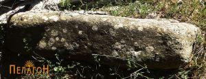 Поголем добро обработен камен блок