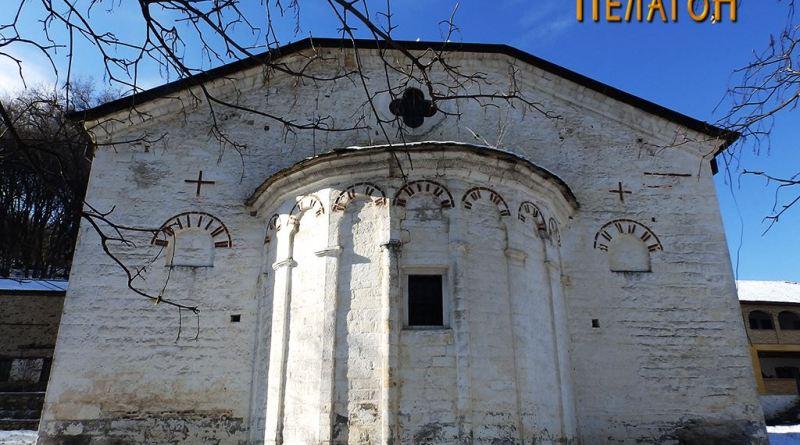 Црквата со апсидата - источен ѕид