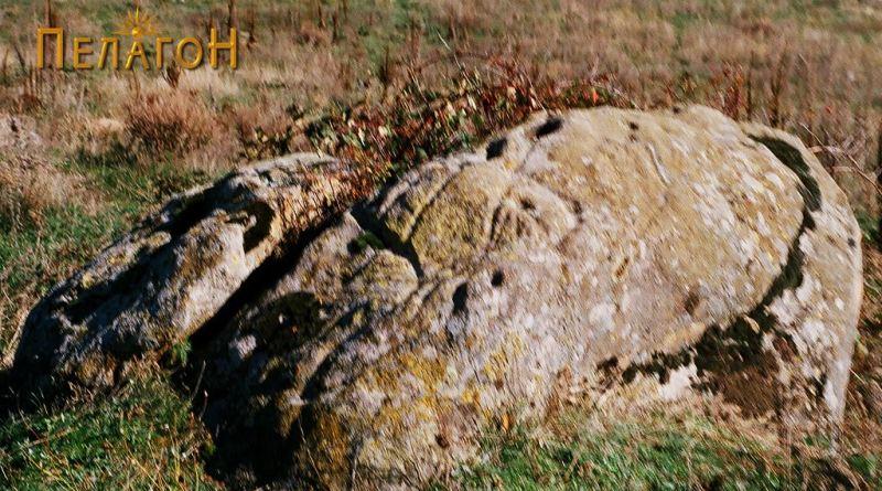 Карпата со симболика од западната страна