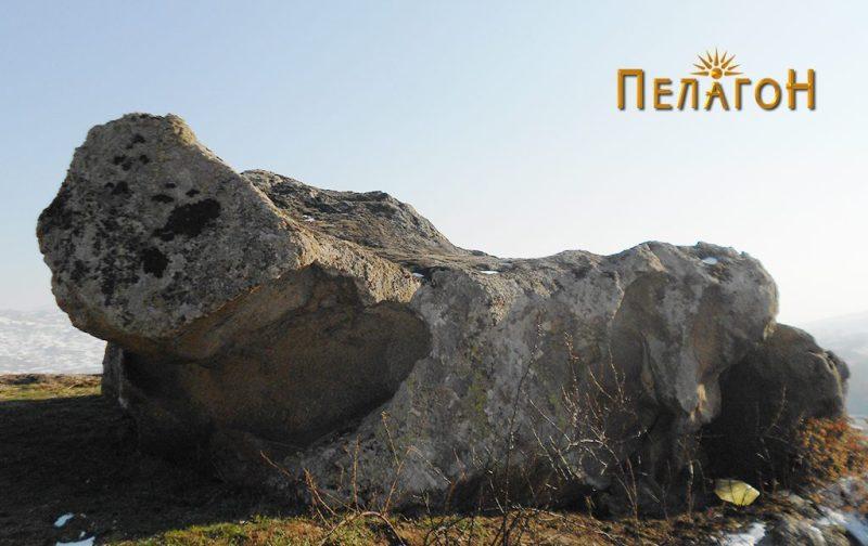 Култната карпа - поглед од северозапад