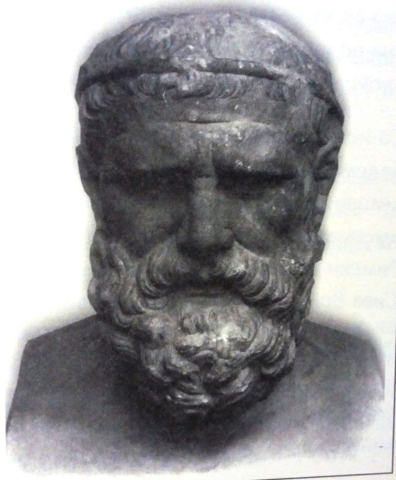 Хомер - VIII век п.н.е. - Од книгата Античките театри во Македонија од Т. Јанакивески