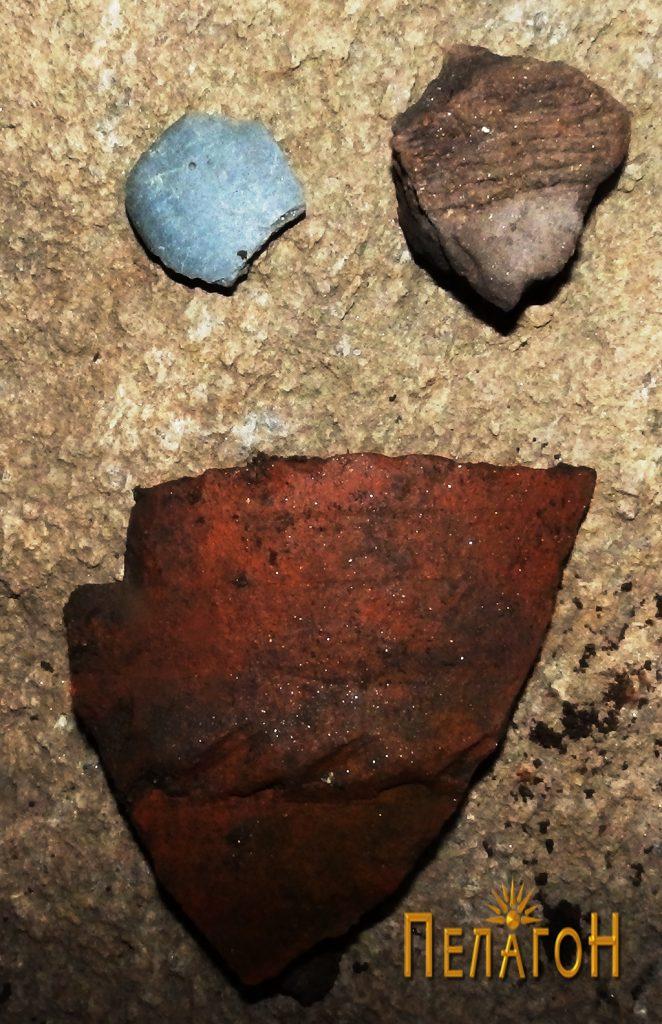 Археолошки предмети од просторот на живеалиштето - фрагменти