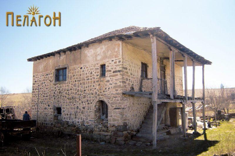 Куќа во селото Крушевица, турска кула