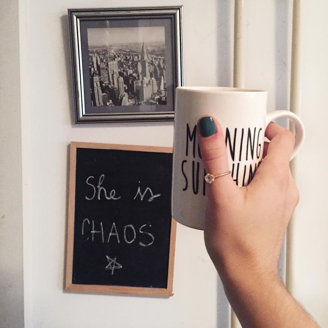 coffee and chaos always life