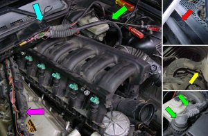 Pelican Technical Article: BMW Intake Manifold Removal