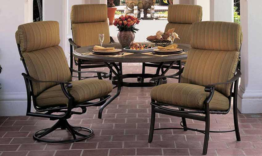 outdoor patio furniture by tropitone