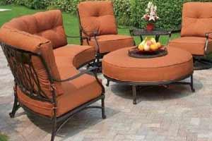 hanamint mayfair patio set