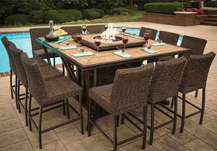 patio furniture by agio franklin