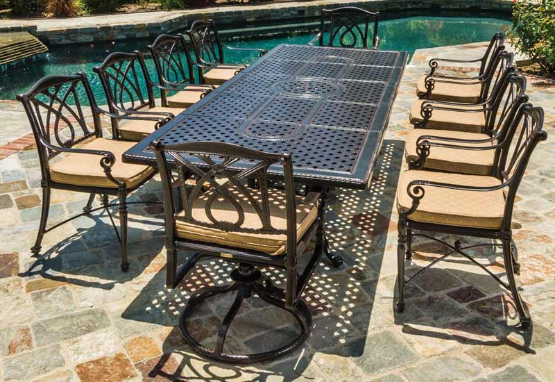 outdoor patio furniture by gensun