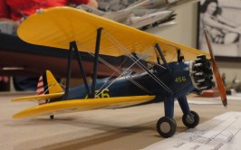 George Brown's nice construct of the 1:48 Revell Stearman.