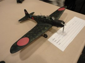 Tom Milne also brought in this 1:48 Hasegawa kit of a Nakajima B5N-2 Kate.