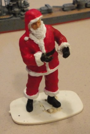Big Al Vaccaro whips up this Santa conversion in 1:35 for a future diorama.