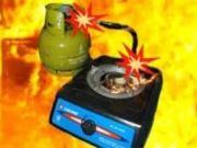 Tabung Gas Meledak, Membakar Isi rumah dan Penghuninya