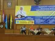 Prodi Kesejahteraan Sosial FIDKOM UIN Syarif Hidayatullah menggelar Seminar Nasional