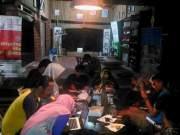 Gagas Jurnal Kampung, Pesta Gorengan Temani Bincang Malam Para Pengelola TBM