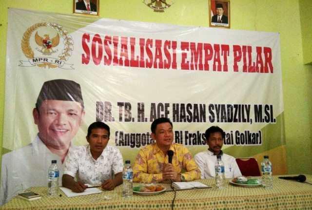 Ace Hasan Syadzily Ajak Guru Menjadi Agen Kebangsaan