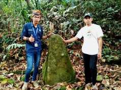 Situs Batu Tumpeng di Hutan Adat Kasepuhan Adat Cibadak Dijaga Secara Turun Temurun