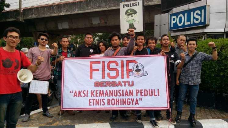 Mahasiswa FISIP UBK Bersatu Gelar Aksi Kemanusiaan Peduli Rohingya