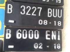 Warna Plat Nomor Kendaraan Mobil dan Motor Akan Diganti