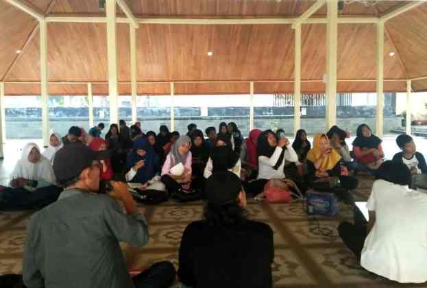 Workshop Seni Rupa Banten Gawe Art #2 Diminati Kaula Muda