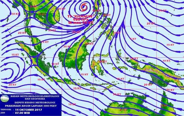 BMKG Waspadai Terjadinya Angin Kencang dan Gelombang Tinggi di Banten