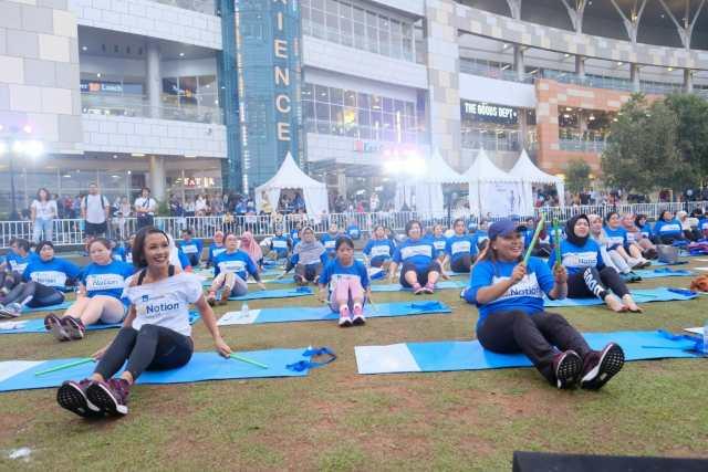 AXA Mandiri Tuntaskan Kampanye Hidup Sehat 2017 dengan Menggelar Fit Nation Festival