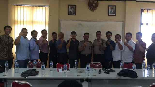 Sukseskan Pilkada Kota Tangerang, Polsek Ciledug Jalin Komunikasi dengan PPK dan PPS