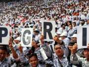HUT ke-72 Hari Guru Nasional, PGRI Kota Tangerang Gelar Apel Bersama