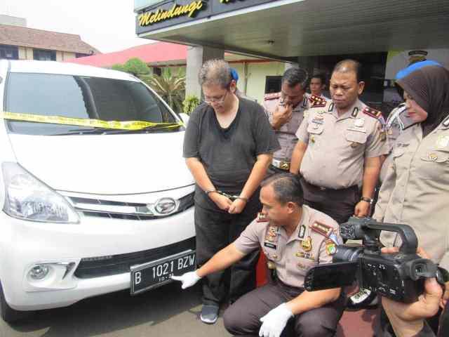 Polisi Tangkap Penerobos Razia Operasi Zebra di Jalan Benteng Betawi Kota Tangerang