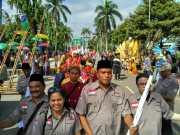 FPK Tampilkan 50 Pakaian Adat dan Deklarasikan Persatuan