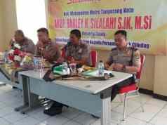Perkuat Sinergitas Kerja, Wakapolres Metro Tangerang Kota Sambangi Mapolsek Ciledug